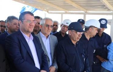 بازدید وزیر صمت و مدیرعامل هلدینگ میدکو از معدن جلال آباد